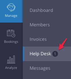 Help Desk Navigation