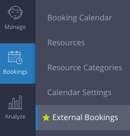 External Bookings