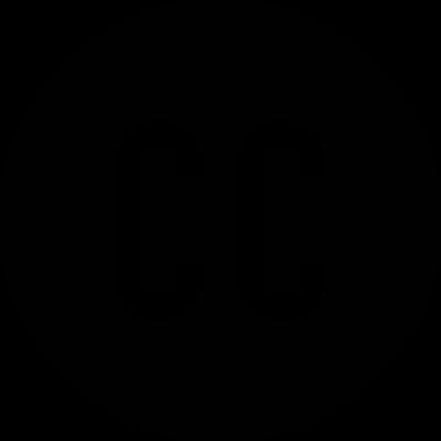 Pdf cc logo black