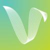 Default vibe logo cmyk mark reverse